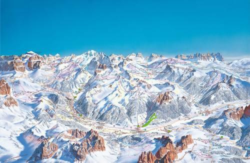 Val di Fassa, a mere drop in the Dolomiti Superski bucket