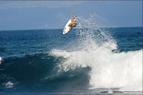 kelly slater surfing