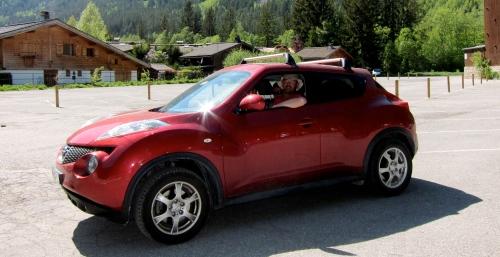 Xavier de Le Rue, Nissan Juke, Chamonix