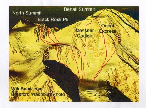 Denali Ski Lines