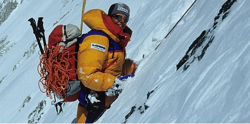 First woman to summit all 8000 meter peaks